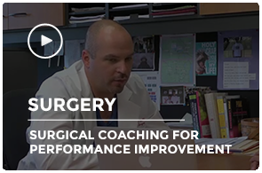 Surgery Grand Rounds: Surgical Coaching for Performance Improvement
