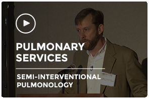 Mark Dransfield Semi Interventional Pulmonology Pulmonary Critical Care Update
