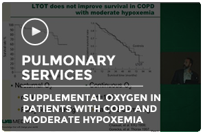 Supplemental Oxygen in Patients with COPD and Moderate Hypoxemia