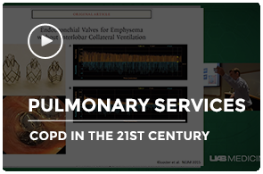 Mark Dransfield COPD Pulmonology